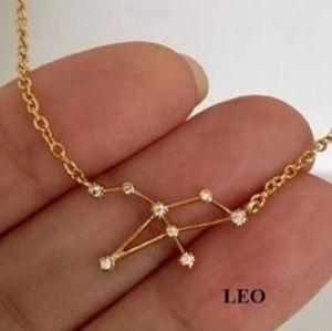 Jewelry - ♌Leo Constellation Zodiac Necklace NWOT